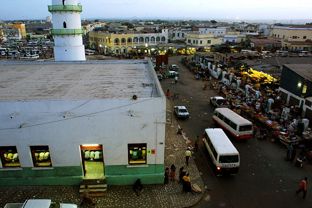 Worshippers Gather At Djibouti Mosque