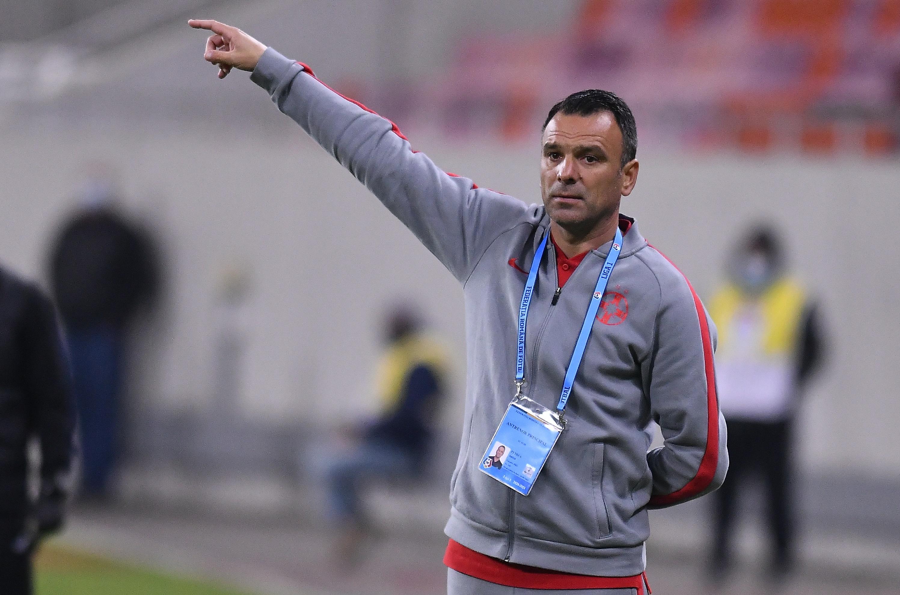 """Ce l-a deranjat pe Toni Petrea după FCSB - Voluntari: """"Intervine lipsa de concentrare"""""""