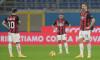 Zlatan Ibrahimovic, Hakan Calhanoglu și Ismael Bennacer, în meciul cu Verona / Foto: Getty Images