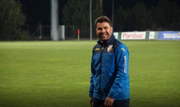 Adrian Mutu, selecționerul naționalei de tineret / Foto: FRF.ro