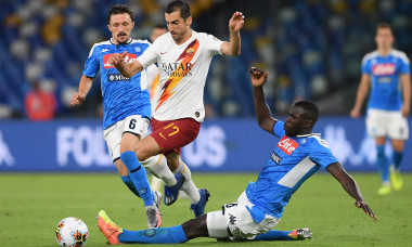 SSC Napoli v AS Roma - Serie A