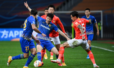 (SP)CHINA SUZHOU FOOTBALL CSL GUANGZHOU VS JIANGSU(CN)