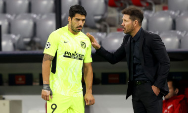 Diego Simeone și Luis Suarez / Foto: Getty Images
