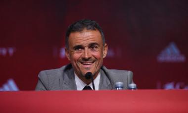 Luis Enrique, selecționerul Spaniei / Foto: Getty Images