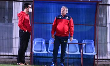 Răzvan Burleanu, președintele FRF, alături de Mihai Stoichiță, directorul tehnic al forului / Foto: Sport Pictures