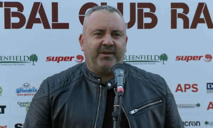 Mihai Iosif, antrenorul Rapidului / Foto: Captură Digi Sport