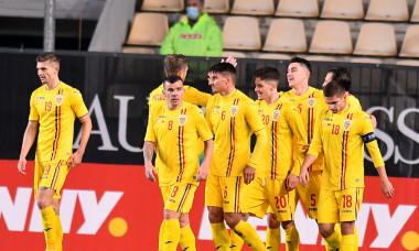 Fotbaliștii naționalei României, în meciul cu Belarus / Foto: Sport Pictures
