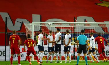 Execuția prin care Dries Mertens a dus scorul la 2-0 în meciul Belgia - Anglia / Foto: Getty Images