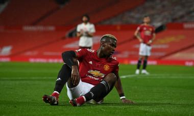 Paul Pogba, în meciul Manchester United - Arsenal / Foto: Getty Images