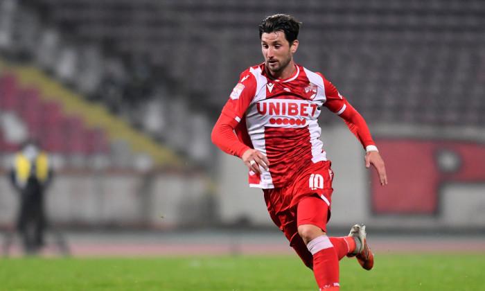 Borja Valle, unul dintre fotbaliștii transferați în vară de Dinamo / Foto: Sport Pictures