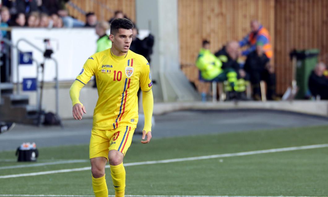 Ianis Hagi, în tricoul echipei naționale / Foto: Sport Pictures
