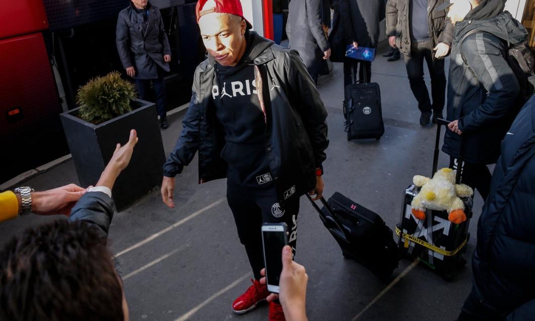 Football Champions League PSG arrive in Belgrade