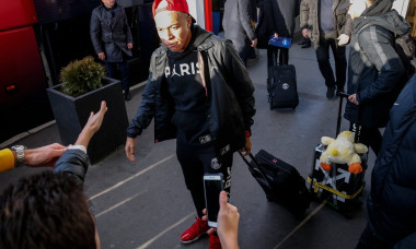 Football Champions League PSG arrive in Belgrade