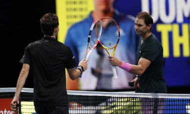 Rafael Nadal, după meciul pierdut în fața lui Dominic Thiem la Turneul Campionilor / Foto: Getty Images