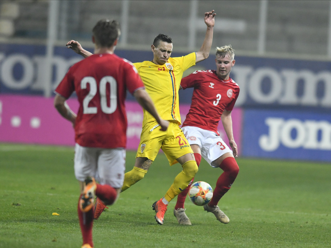 FOTBAL:ROMANIA U21-DANEMARCA U21, PRELIMINARIILE CE 2021 (17.11.2020)