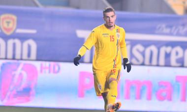 Denis Ciobotariu, în meciul România U21 - Danemarca U21 / Foto: Sport Pictures