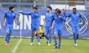 Fotbaliștii de la Academica Clinceni, în meciul cu Sepsi / Foto: Sport Pictures