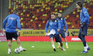 Ciprian Tătărușanu, la un antrenament cu echipa națională / Foto: Sport Pictures