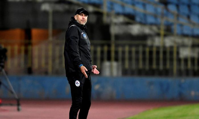 Edi Iordănescu, în perioada în care antrena la Gaz Metan Mediaș / Foto: Sport Pictures