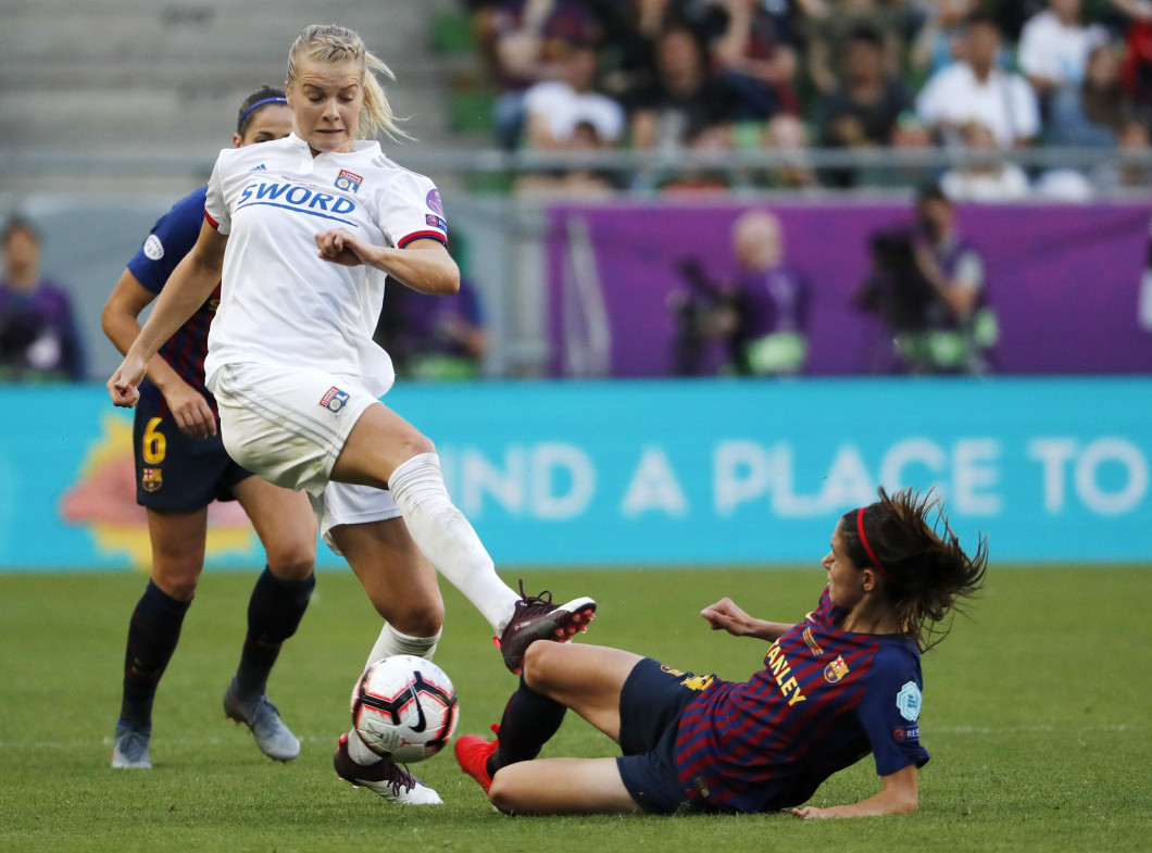 Olympique Lyonnais v FC Barcelona - UEFA Women's Champions League Final