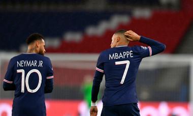 Mbappe și Neymar, fotbaliștii lui PSG / Foto: Getty Images