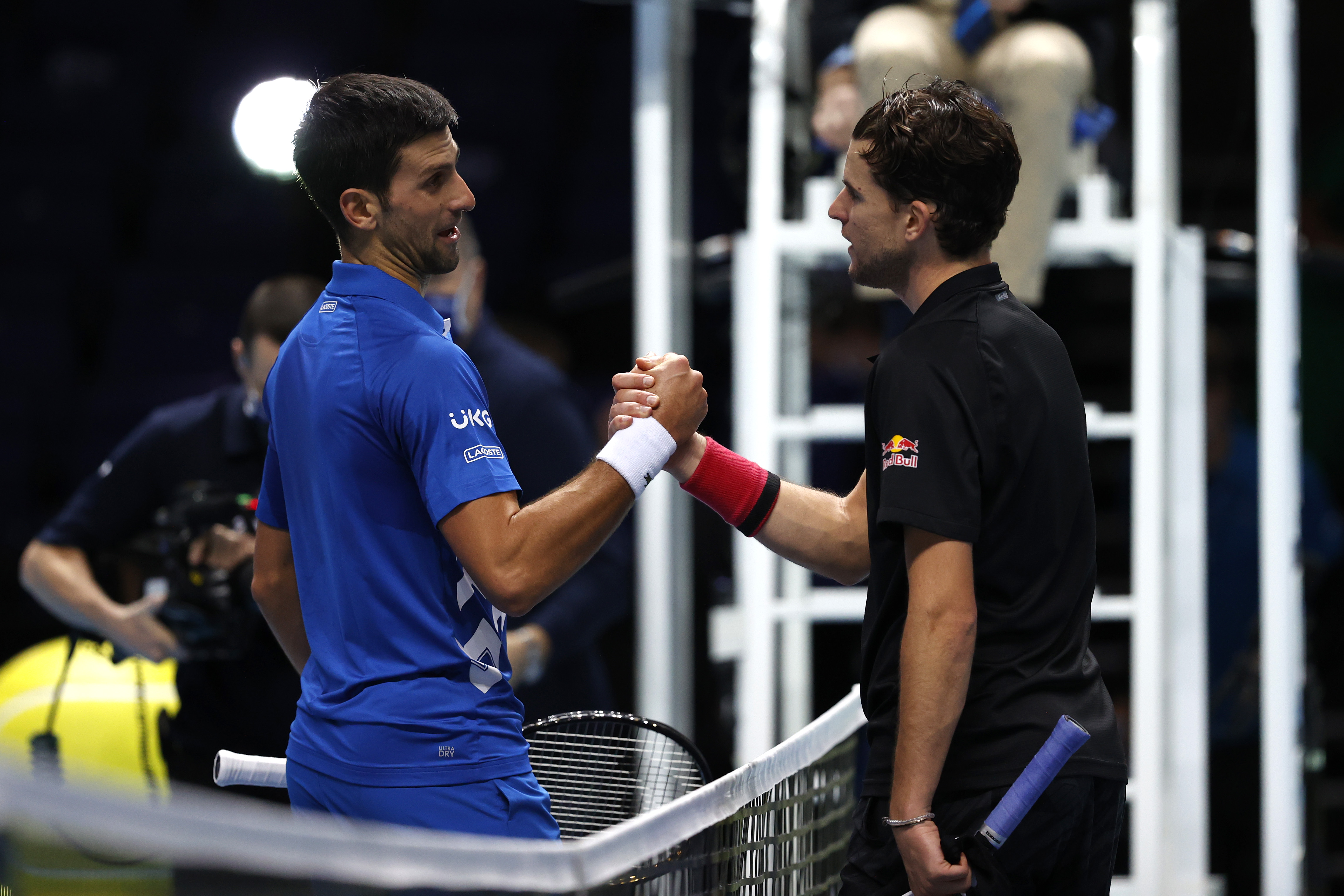 Djokovic, învins dramatic de Thiem în semifinalele Turneului Campionilor! Bornă impresionantă atinsă de austriac