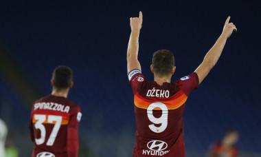 Edin Dzeko, atacantul Romei / Foto: Getty Images
