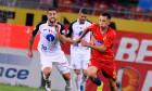 Olimpiu Moruțan, într-un meci FCSB - Gaz Metan Mediaș / Foto: Sport Pictures