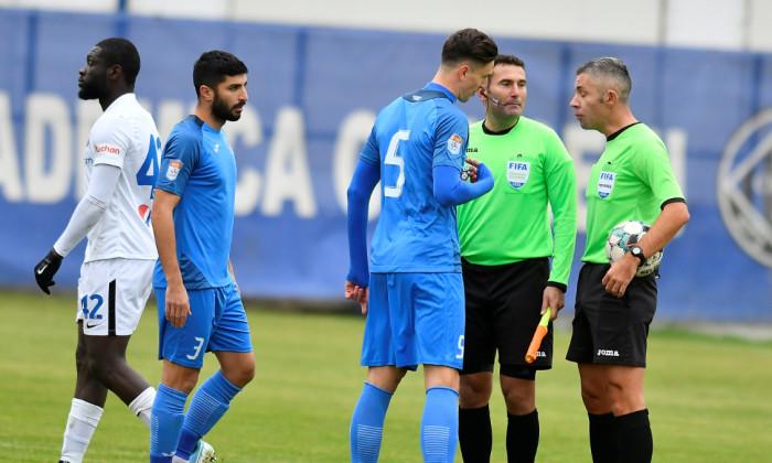 Florin Gardoș și Radu Petrescu, după meciul Academica Clinceni - Viitorul / Foto: Sport Pictures