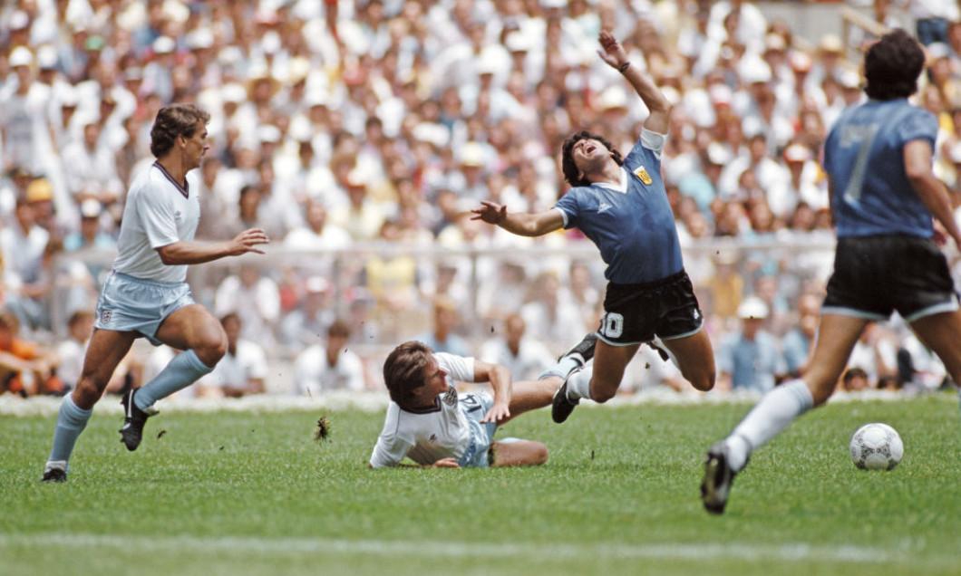 1986 FIFA World Cup Quarter Final Argentina v England