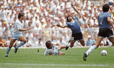 1986 FIFA World Cup Quarter Final Argentina v England