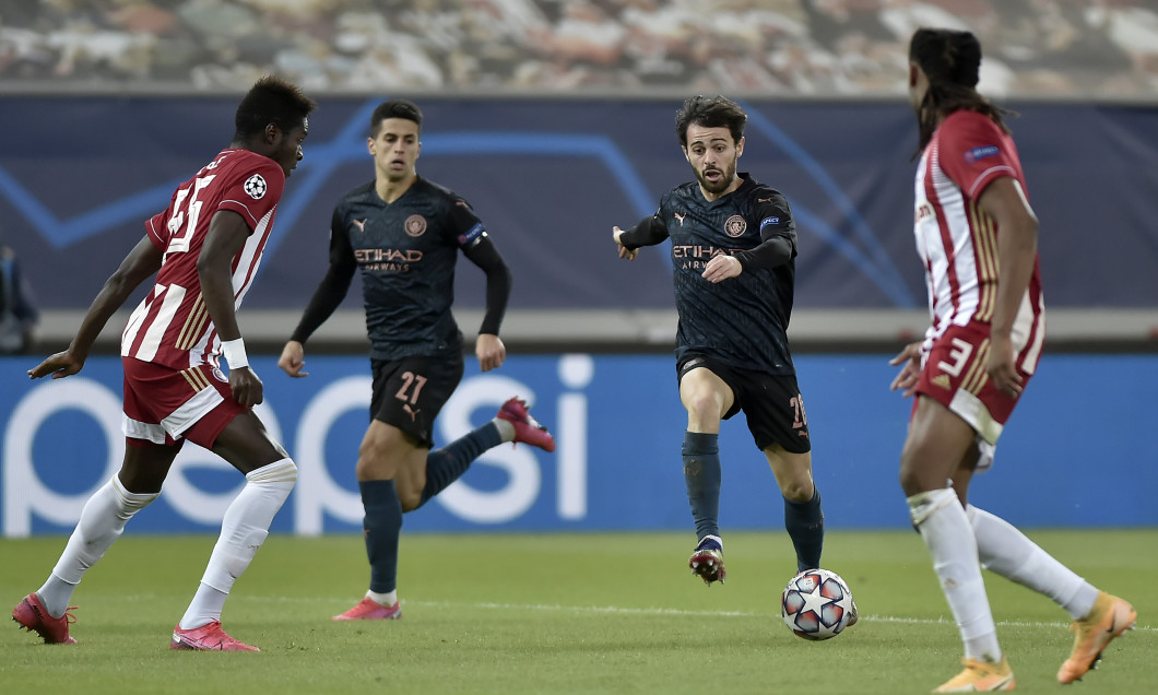 Olympiacos FC v Manchester City: Group C - UEFA Champions League