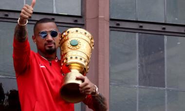 Eintracht Frankfurt Celebrates Winning The DFB Cup