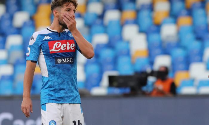 Dries Mertens, cel mai bun marcator din istoria lui Napoli / Foto: Getty Images