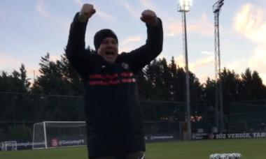 Marius Șumudică, antrenorul lui Gaziantep / Foto: Captură Facebook@gaziantepfutbolkulubu