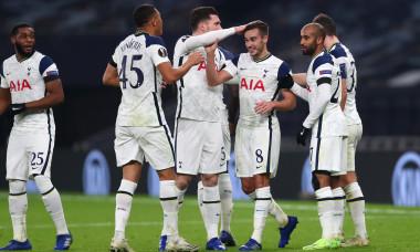 Harry Winks, după golul marcat în meciul Tottenham - Ludogorets / Foto: Getty Images