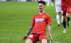 Dennis Man, după un gol marcat pentru FCSB în meciul cu FC Botoșani / Foto: Sport Pictures