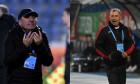 Gică Hagi și Mircea Rednic / Foto: Sport Pictures