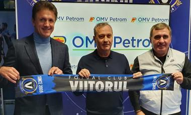 Mircea Rednic, prezentat oficial la Viitorul / Foto: Facebook@Viitorulfc