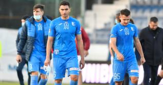 Fotbaliștii echipei Farul, după un meci cu Rapid / Foto: Sport Pictures