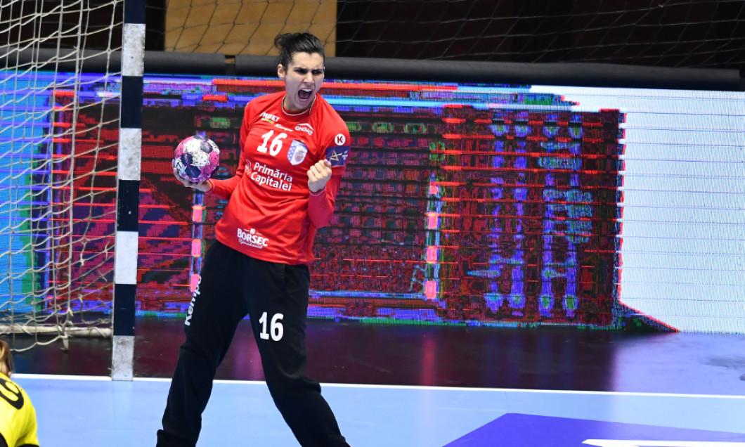 Denisa Dedu, portarul naționalei de handbal feminin a României / Foto: Sport Pictures