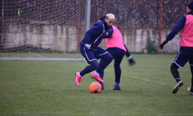 Mahmoud Al-Mawas s-a antrenat în premieră la Botoșani / Foto: Facebook@FCBotoșani