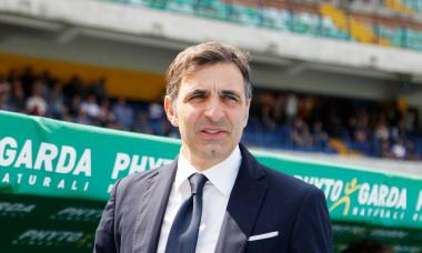 Fabio Pecchia, în perioada în care antrena la Verona / Foto: Getty Images
