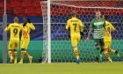 Ousmane Dembele, după golul marcat pentru Barcelona cu Ferencvaros / Foto: Getty Images