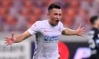 Olimpiu Moruțan, după un gol marcat pentru FCSB în meciul cu Hermannstadt / Foto: Sport Pictures