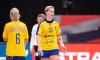 Cristina Laslo, în meciul cu Germania / Foto: Profimedia