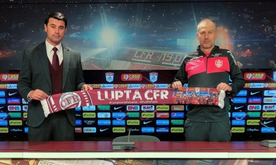 Edi Iordănescu a revenit la CFR Cluj / Foto: Facebook@Cfr1907cluj