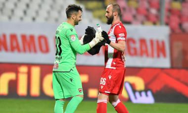 Rene Hinojo și Ante Puljic, după victoria obținută de Dinamo cu Viitorul în Cupă / Foto: Sport Pictures