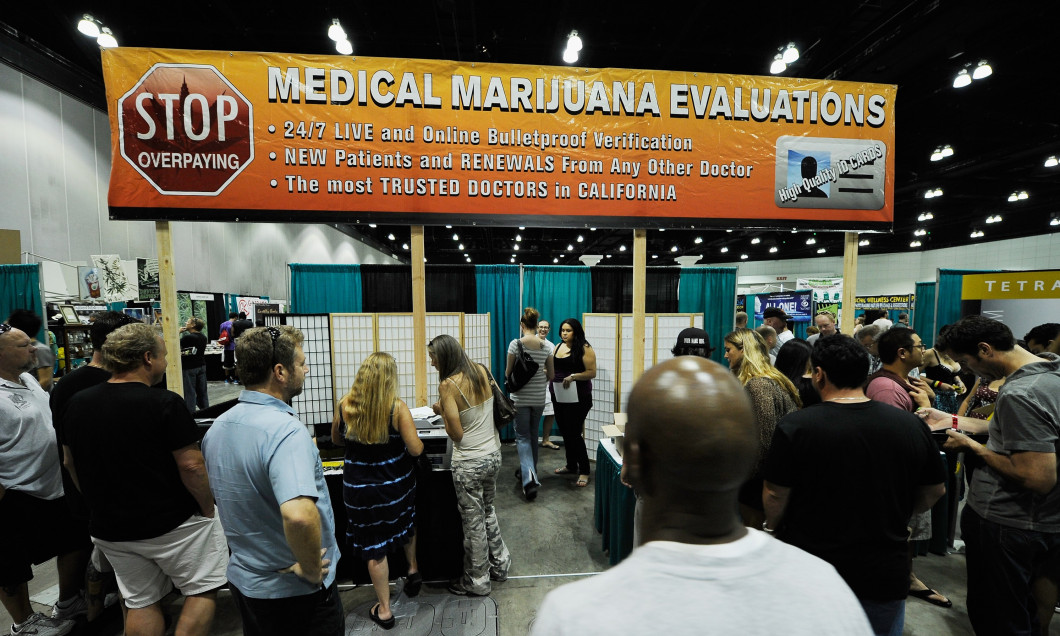 HempCon 2011 Medical Marijuana Expo Held In Los Angeles