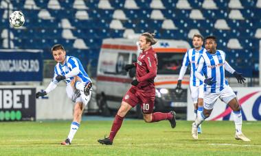 Ciprian Deac, în timpul meciului Poli Iași - CFR Cluj, încheiat 0-2 / Foto: Sport Pictures